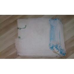 worek raszlowy 10 kg.transparentny biały 38x60 cm import(100 szt)