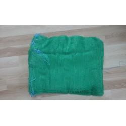 worek raszlowy 10kg. zielony 38x60 cm polski  (100 szt)
