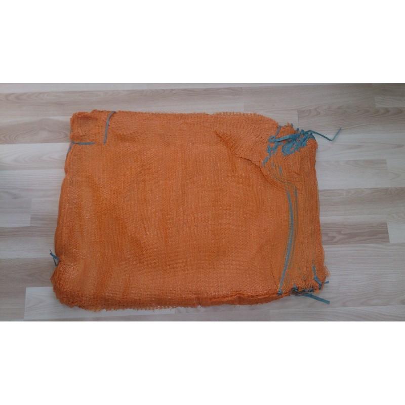 worek raszlowy pomarańczowy  25-30 kg 50x80 cm (1000 szt)