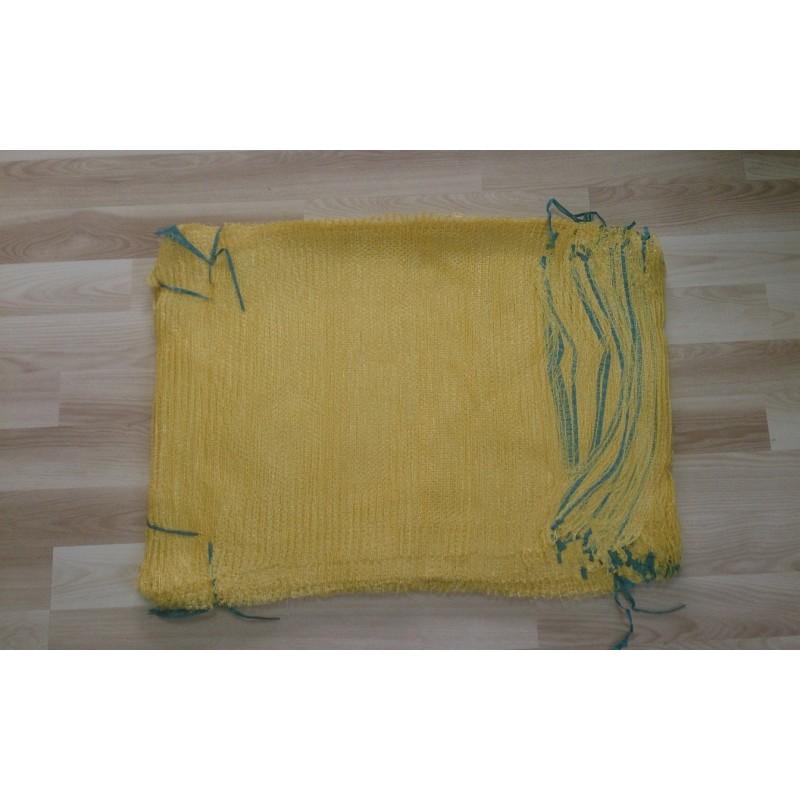 worek raszlowy  żółty  25-30 kg 50x80 cm (1000 szt)