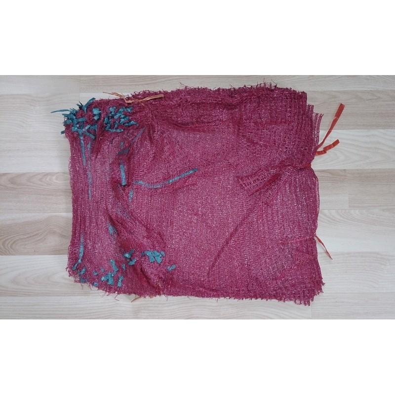 worek 5 kg raszlowy bordowy, 30x50 cm import (1000 szt)