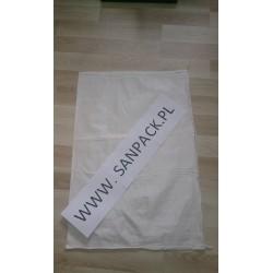worek polipropylenowy biały 55x80 cm 50 g 100 szt