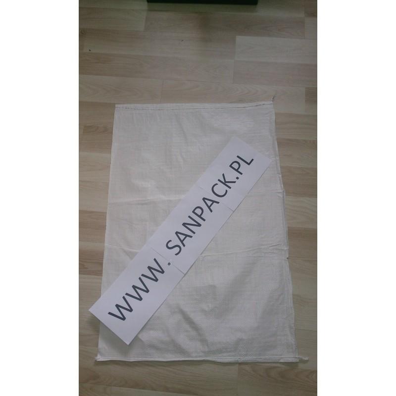 worek polipropylenowy biały 50x85 cm 50 g 100 szt