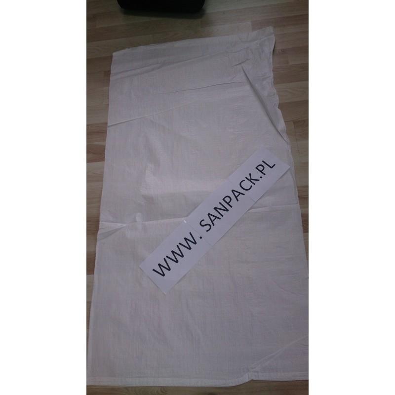 worek polipropylenowy biały 80 x 150cm. (100 szt)