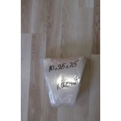 Rożki foliowe perforowane 10x25x25cm a 1000 szt.