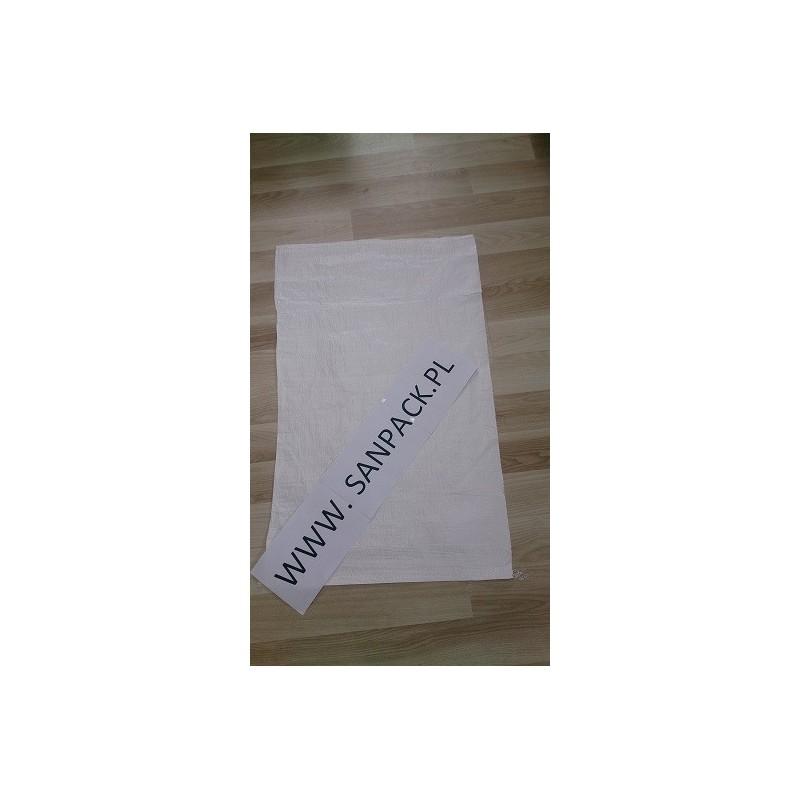 worek polipropylenowy biały 50x80 cm 48 g 1000szt.