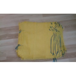 worek raszlowy 10-15 kg. pomarańczowy   42x60 cm import(100 szt)