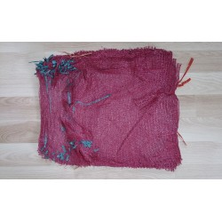 worek 5 kg raszlowy bordowy, 30x50 cm import (100 szt)