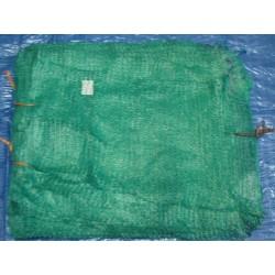 worek raszlowy 10-15 kg. zielony  ciemny 40x60 cm import(100 szt)