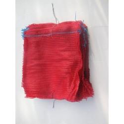 worek raszlowy 10-15 kg. bordowy 40x60 cm polski (100 szt)