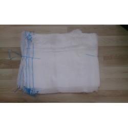 worek raszlowy 10-15 kg. biały 40x60 cm polski (100 szt)