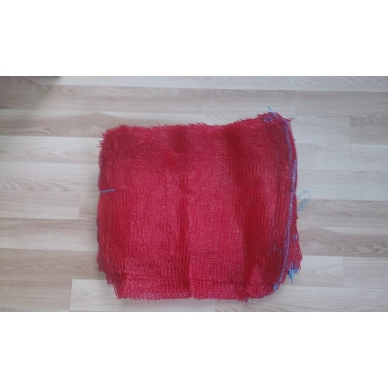 worek raszlowy 15 kg. bordowy 40x60 cm polski (1000 szt)