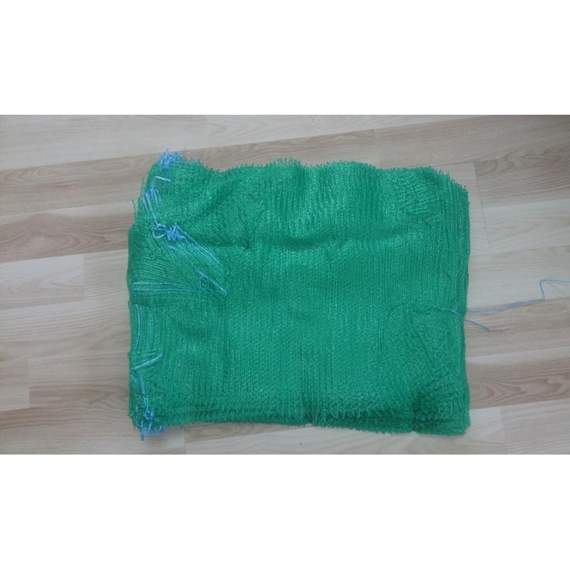 worek raszlowy 10 kg. zielony 38x60 cm polski  (1000 szt)