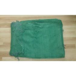 worek raszlowy zielony  25-30 kg 50x80 cm (100 szt)