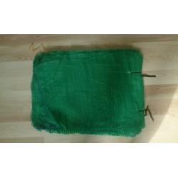 worek raszlowy 10-15 kg. zielony  40x62 cm import(100 szt)