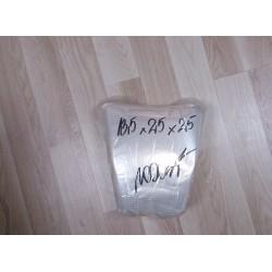 Rożki foliowe perforowane 13,5x25x25 cm a 1000 szt