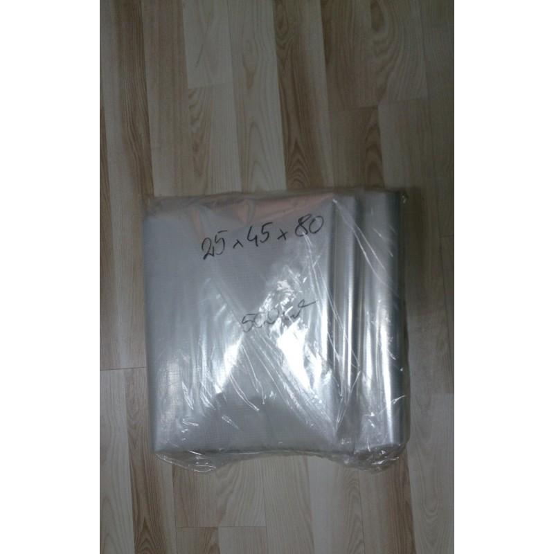 Rożki foliowe perforowane 25x45x80 cm a 500 szt