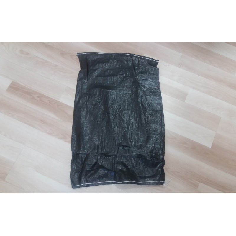 Worek polipropylenowy czarny 50x80 cm 50 g (1000 szt)