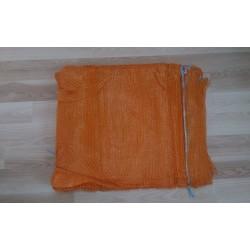 worek raszlowy 10-15 kg. pomarańczowy 40x62 cm import(1000 szt)